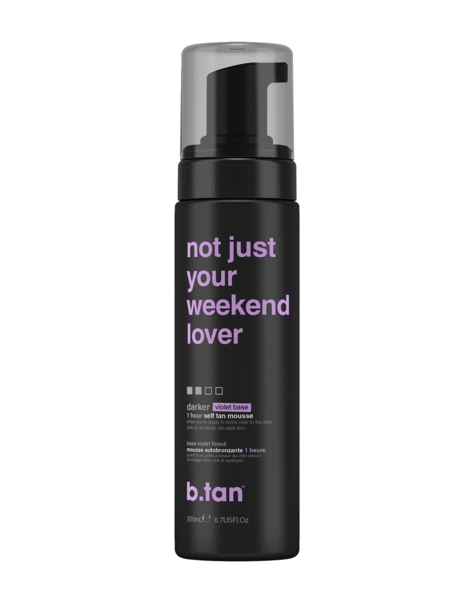 b.tan not just your weekend lover... self tan mousse (6.7 oz)