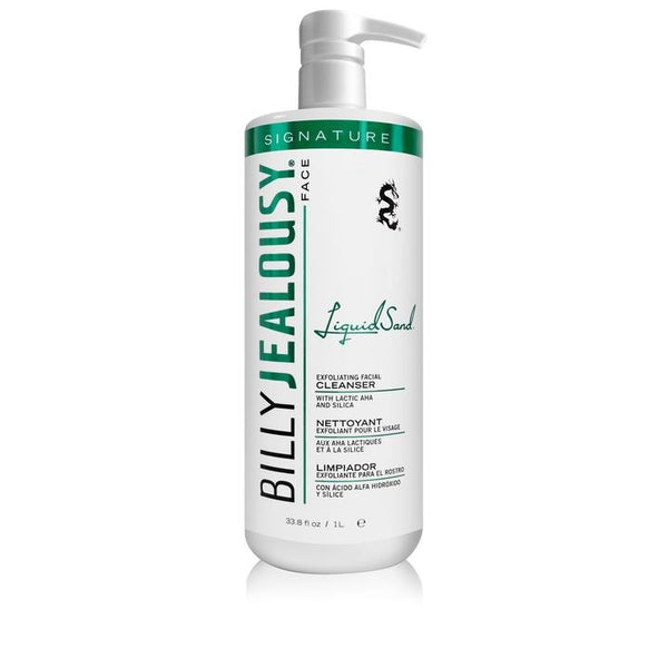 Billy Jealousy LiquidSand Exfoliating Facial Cleanser (33.8 oz)