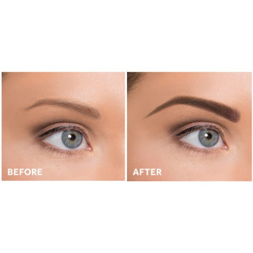 Cherry Blooms Mineral Fiber Brow Kit with Stencils (Mocha-Red Brown)