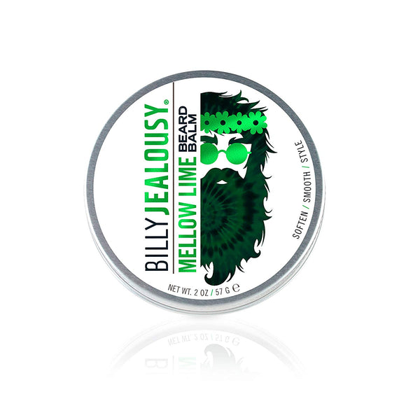 Billy Jealousy Mellow Lime Balm - Lime Bergamont (2oz)