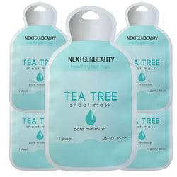 NextGenBeauty Tea Tree K Beauty Sheet Mask (5-Pack)