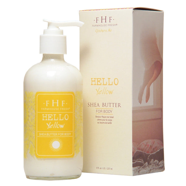 FarmHouse Fresh Hello! Yellow Shea Butter Cream (8.75 Oz)