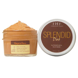 FarmHouse Fresh Splendid Dirt Mud Mask - Pumpkin (3.25 Oz)