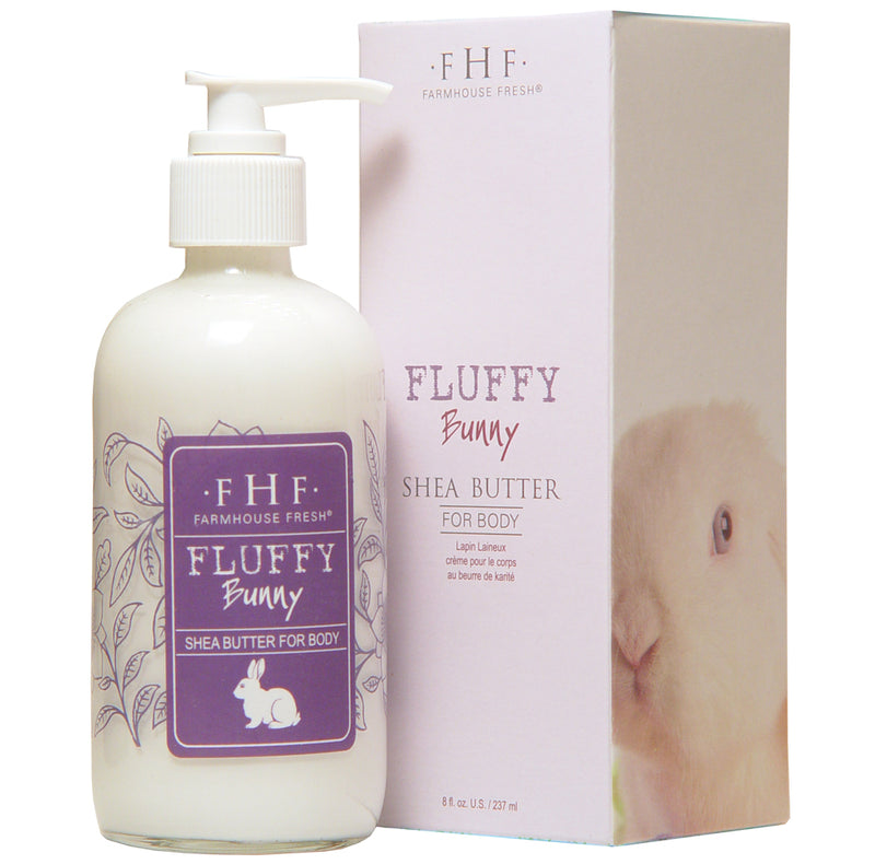 FarmHouse Fresh Fluffy Bunny Shea Butter Cream - Pump (8 Oz)