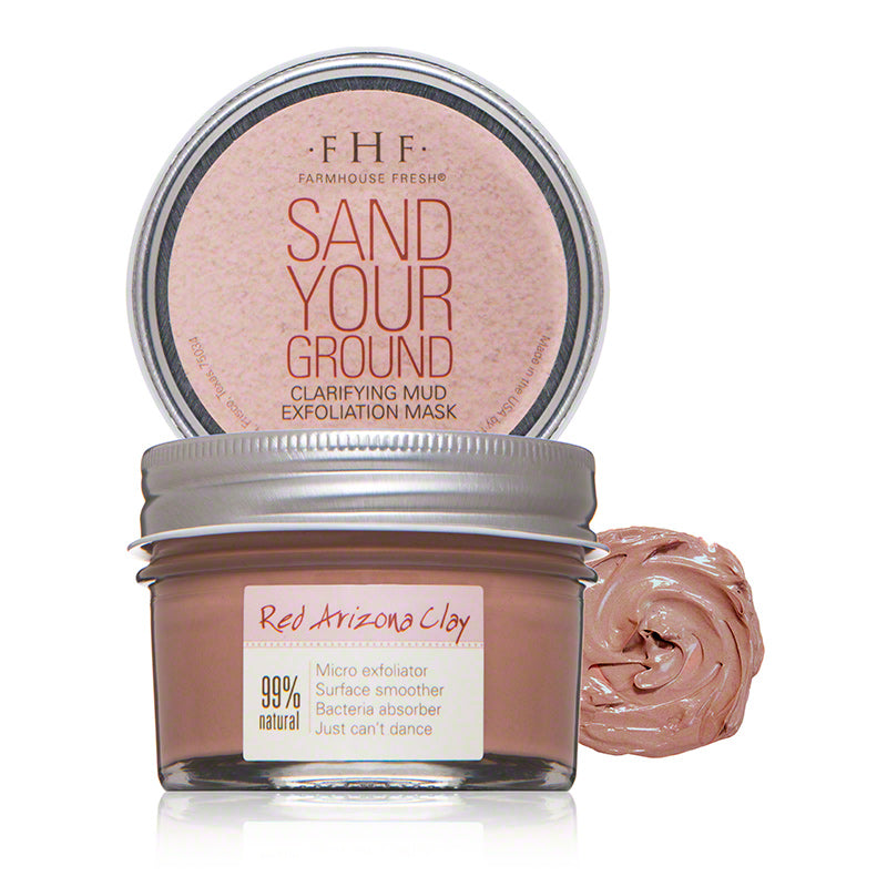 FarmHouse Fresh Sand Your Ground Clarifying Mud Exfoliation Mask (3 Oz)