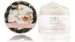FarmHouse Fresh Big Bare Whipped Shea Butter Body Polish - Organics (8 oz)