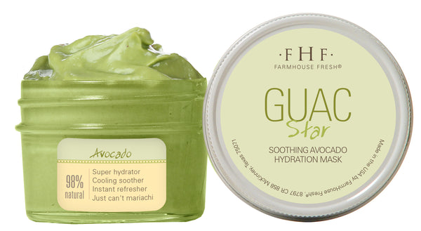 FarmHouse Fresh Guac Star-Avocado Mask (3.25 oz)