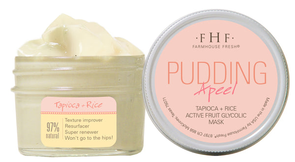 FarmHouse Fresh Pudding Apeel-Tapioca Mask (3.25 oz)
