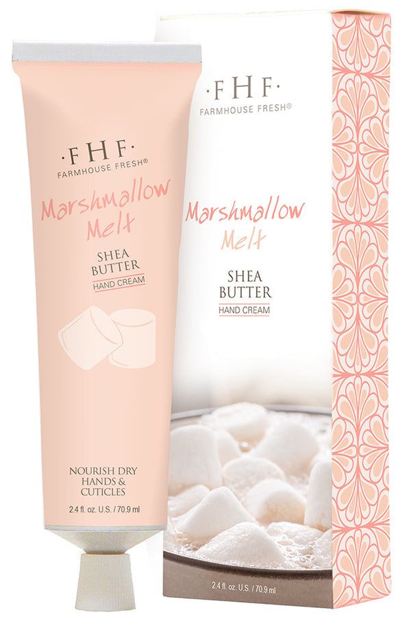 FarmHouse Fresh Marshmallow Melt Shea Butter Cream Hand Cream (2.5 oz )