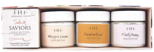 FarmHouse Fresh Skin Saviors Shea Butter Sampler