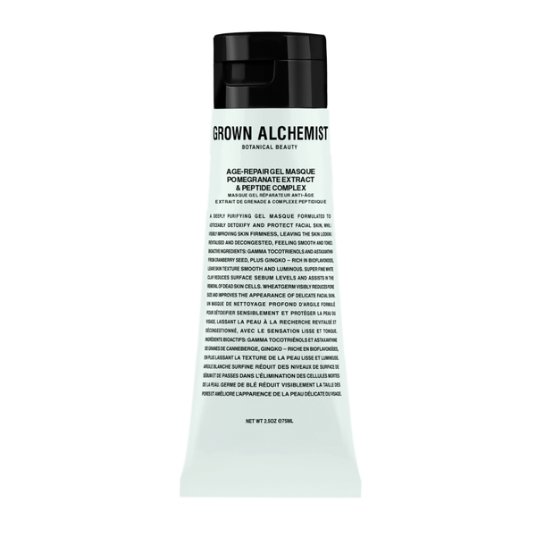 Grown Alchemist Age-Repair Gel Masque: Pomegranate & Amino Protein Complex (75 ml)