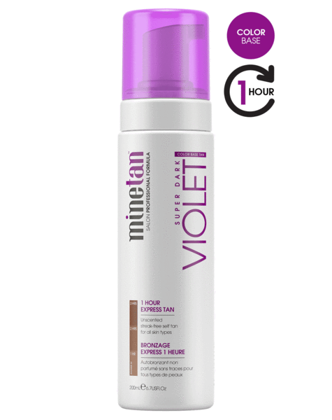 MineTan Violet Self Tan Foam (6.7 oz)