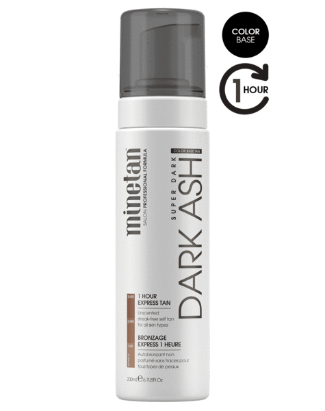 MineTan Dark Ash Self Tan Foam (6.7 oz)