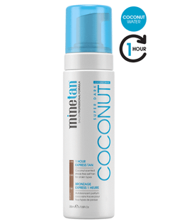 MineTan Coconut Water Self Tan Foam  (6.7 oz)