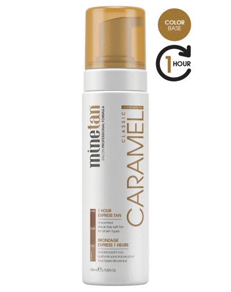 MineTan Caramel Self Tan Foam (6.7 oz)