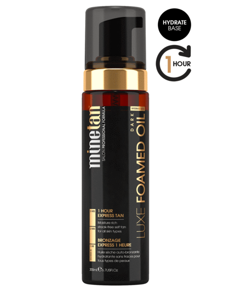 MineTan Luxe Foamed Oil Self Tan Foam (6.7 oz)