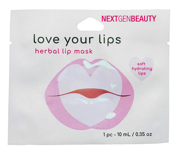 NextGenBeauty Herbal Lip Gel Mask (5-Pack)