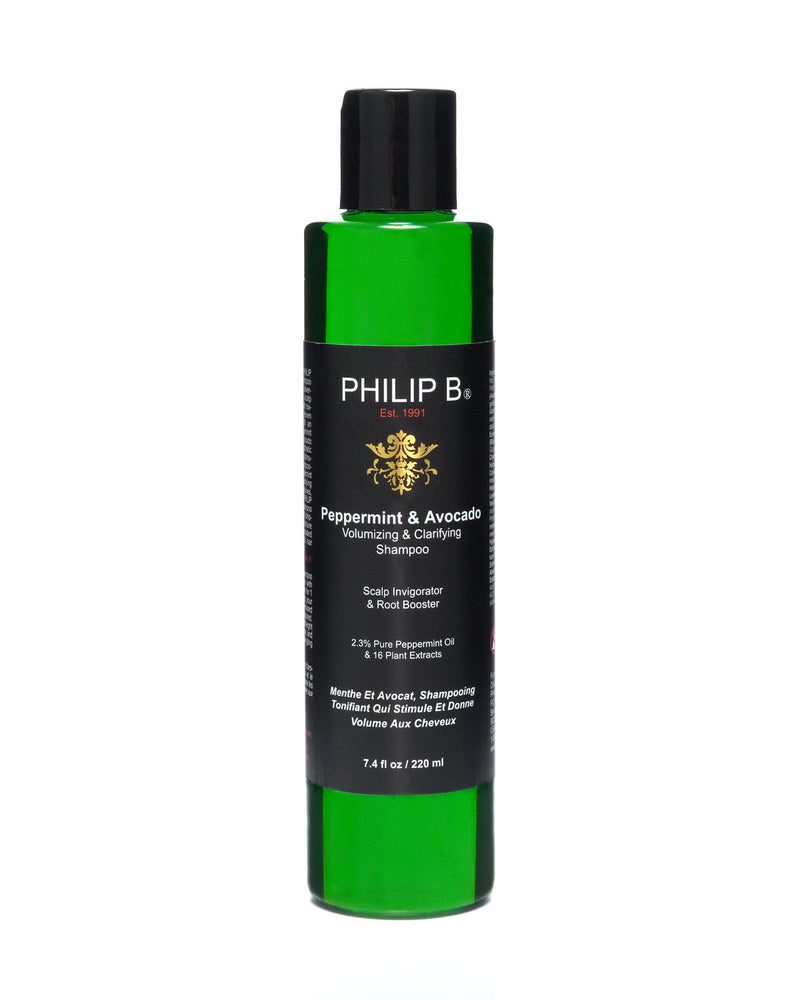 Philip B. Peppermint & Avocado Volumizing & Clarifying Shampoo (7.4 oz)