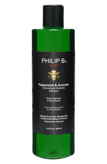 Philip B. Peppermint & Avocado Volumizing & Clarifying Shampoo (11.8 Oz)