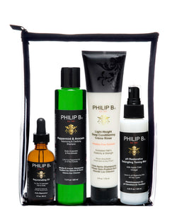 Philip B. Four Step Hair & Scalp Treatment Set (Includes Classic Formula Conditioner)