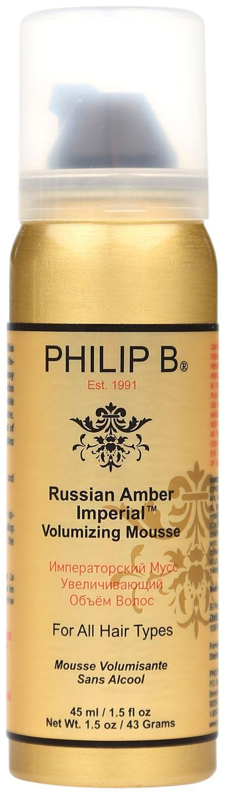 Philip B. Russian Amber Imperial™ Volumizing Mousse (1.5 Oz)