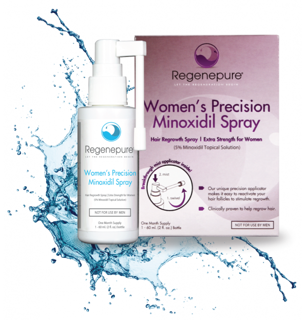 Regenepure Precision Minoxidil Spray for Women