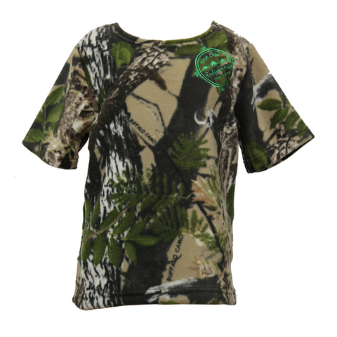 Kids Short Sleeve Bush Shirt