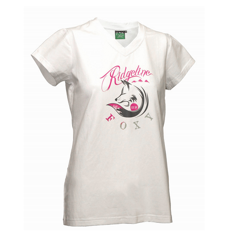 Ladies Foxy V-Neck Tee