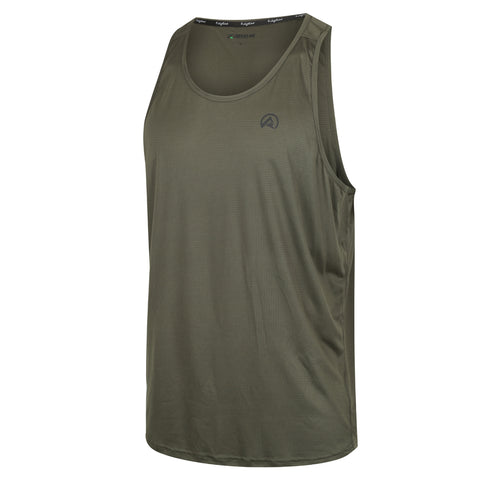 Mens Micro Lite Tank Forest