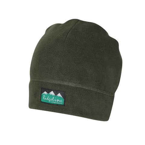 Classic Two Layer Beanie Olive