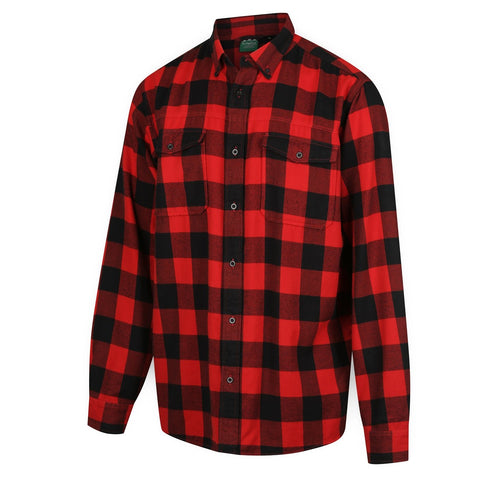 Mens Organic Check Shirt