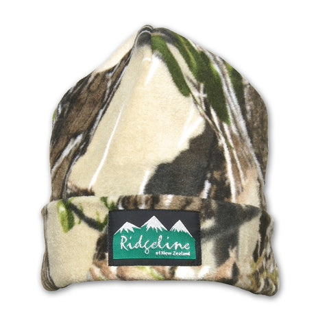 Classic Two Layer Beanie Camo
