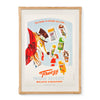Freezy Frozen Delights Poster