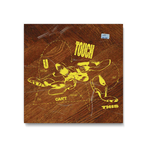 U Can't Touch This - Limited Edition Giclee Art Print