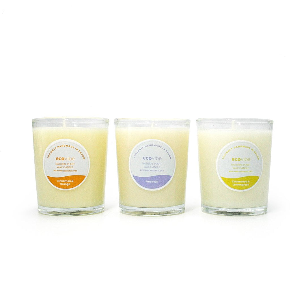 Trio of Candles - Winter Warmers