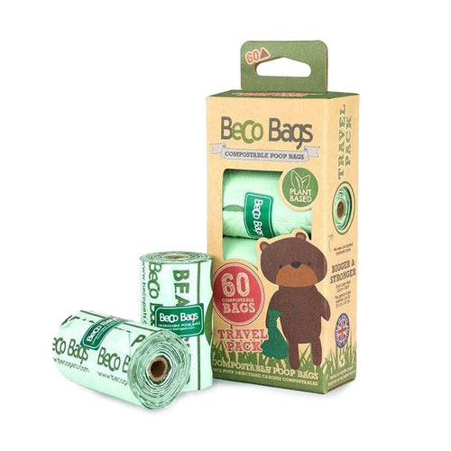 Biodegradable Home Compostable Poop Bags (60 bags)
