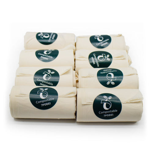 Biodegradable Home Compostable Poop Bags (120 bags)