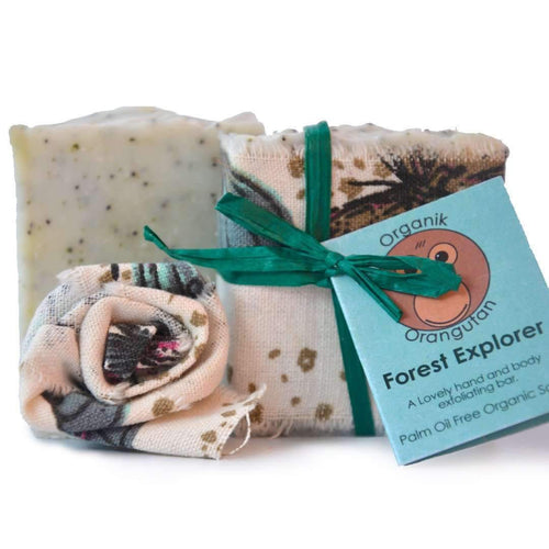 Palm Oil Free Exfoliating Soap Bar - Forest Explorer