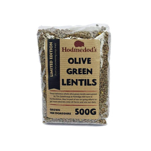 Whole Green Olive Lentils - 500g
