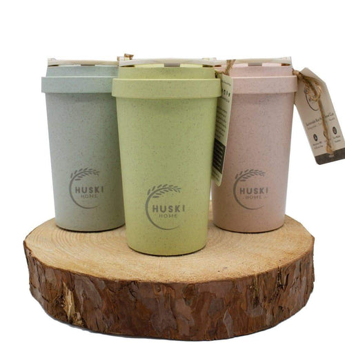 Rice Husk Travel Coffee Cup (400 ml)