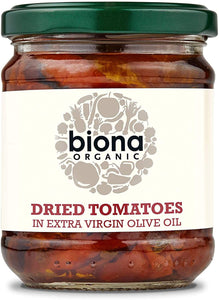 Organic Sun Dried Tomatoes Extra Virgin Olive Oil - 170g