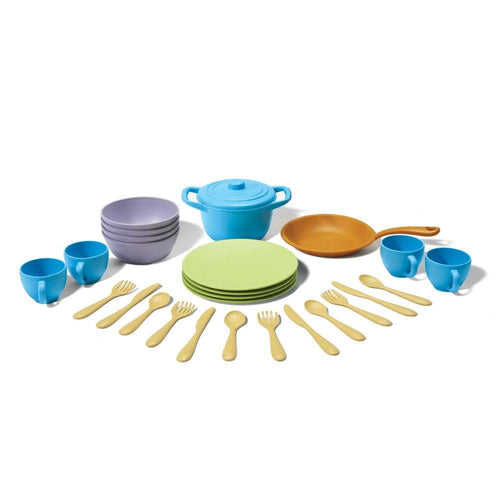 Cookware and Dining Set Toy (Recycled Plastic)