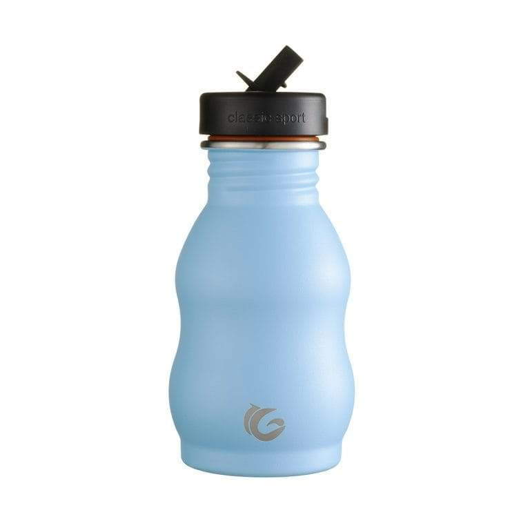 Steel Curvy Bottle with NEW Sports Cap