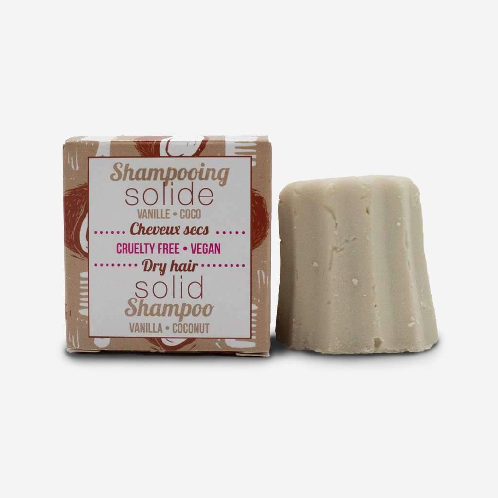 Natural Shampoo Bar (Vanilla and Coconut, dry hair)