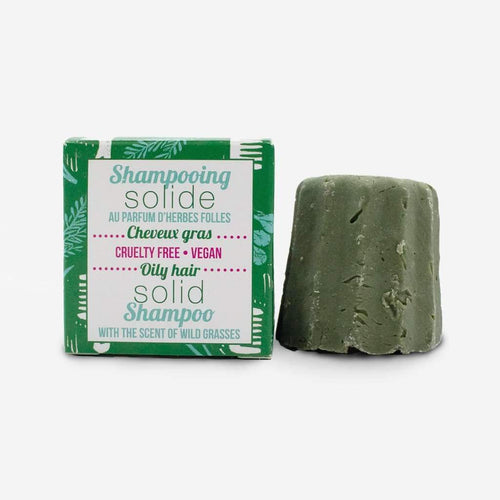Natural Shampoo Bar (Wild Herbs, oily hair)