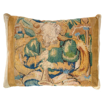 Antique 17th C. Tapestry Fragment (#T041220A | 13 x 17