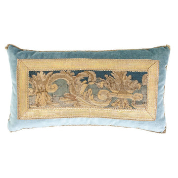 Antique Tapestry Fragment (#T041620A&B | 10 x 18