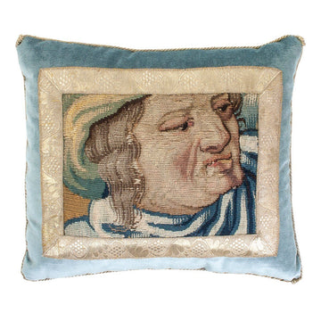Antique Tapestry Fragment (#T041820 | 13 x 15