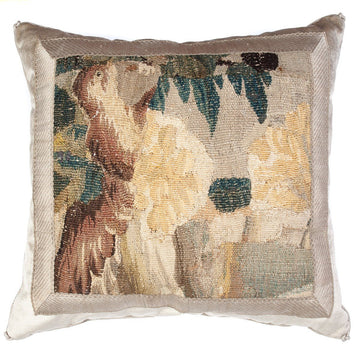 Antique Tapestry Fragment (#T042620 | 19 x 20