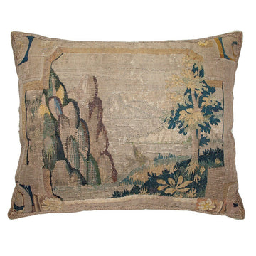 Antique Tapestry Fragment (#T070514 | 17 1/4 x 21